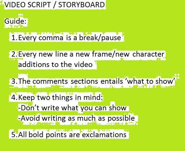 The product video script writing guide