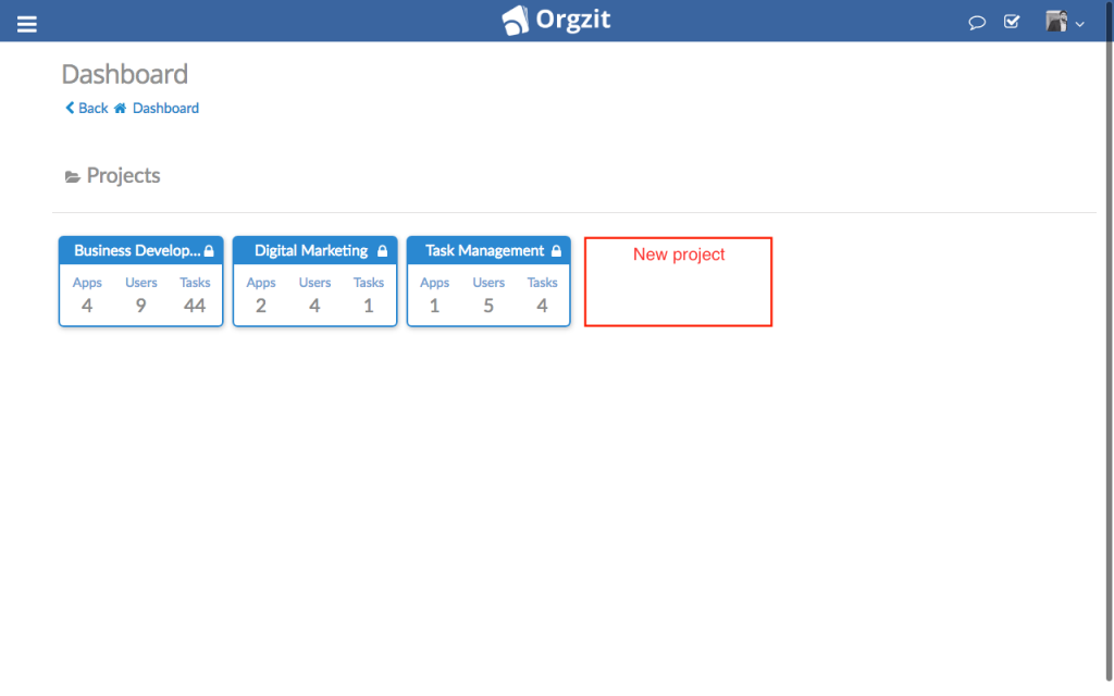 Orgzit_New_Projects